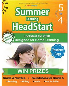 Lumos Summer Learning HeadStart Grade 4 to 5, Student Copy