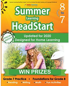 Lumos Summer Learning HeadStart Grade 7 to 8, Teacher Copy