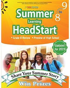 Lumos Summer Learning HeadStart Grade 8 to 9, Teacher Copy