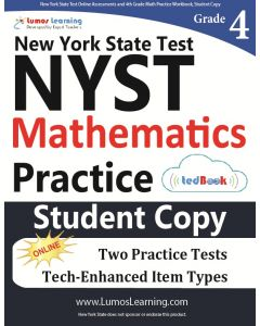 NYST Practice tedBook® - Grade 4 Math, Student Copy