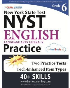 NYST Practice tedBook® - Grade 6 ELA, Teacher Copy