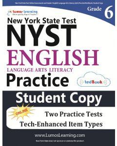 NYST Practice tedBook® - Grade 6 ELA, Student Copy