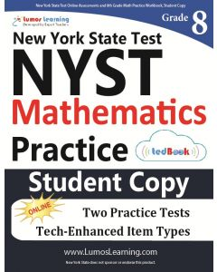 NYST Practice tedBook® - Grade 8 Math, Student Copy