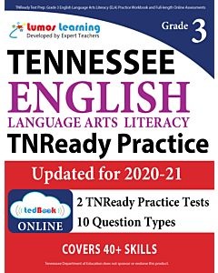 TNReady Practice tedBook® - Grade 3 ELA, Teacher Copy