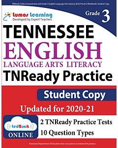TNReady Practice tedBook® - Grade 3 ELA, Student Copy