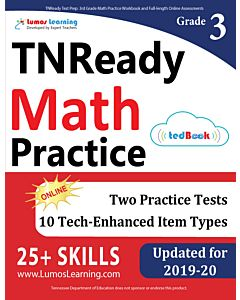 TNReady Practice tedBook® - Grade 3 Math, Teacher Copy