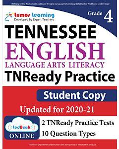 TNReady Practice tedBook® - Grade 4 ELA, Student Copy