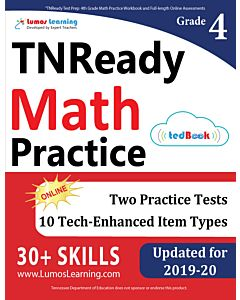 TNReady Practice tedBook® - Grade 4 Math, Teacher Copy