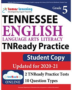 TNReady Practice tedBook® - Grade 5 ELA, Student Copy