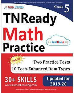 TNReady Practice tedBook® - Grade 5 Math, Teacher Copy