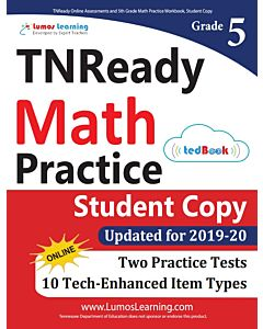 TNReady Practice tedBook® - Grade 5 Math, Student Copy