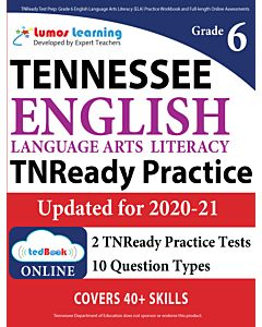 TNReady Practice tedBook® - Grade 6 ELA, Teacher Copy