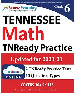 TNReady Practice tedBook® - Grade 6 Math, Teacher Copy