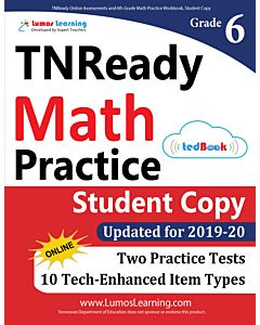 TNReady Practice tedBook® - Grade 6 Math, Student Copy