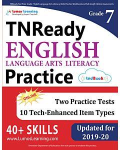 TNReady Practice tedBook® - Grade 7 ELA, Teacher Copy