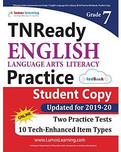 TNReady Practice tedBook® - Grade 7 ELA, Student Copy