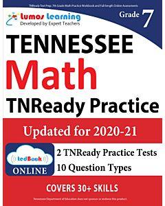 TNReady Practice tedBook® - Grade 7 Math, Teacher Copy
