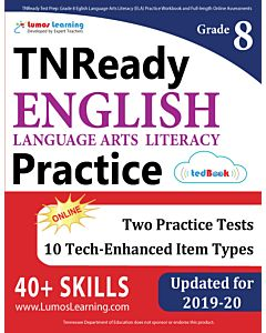 TNReady Practice tedBook® - Grade 8 ELA, Teacher Copy