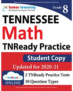 TNReady Practice tedBook® - Grade 8 Math, Student Copy