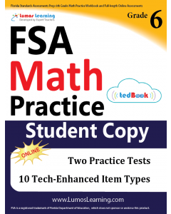 FSA Practice tedBook® - Grade 6 Math, Student Copy
