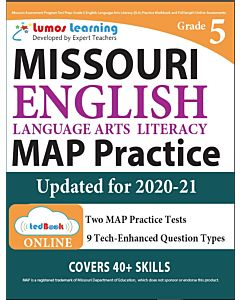 MAP Practice tedBook® - Grade 5 ELA, Teacher Copy