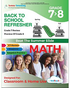 Back to School Refresher tedBook - Grade 7>8 Math, Teacher Copy