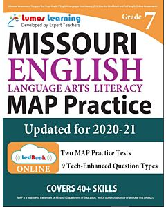 MAP Practice tedBook® - Grade 7 ELA, Teacher Copy