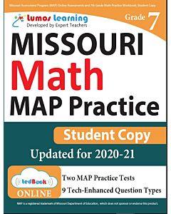 MOMAP Practice tedBook® - Grade 7 Math, Student Copy
