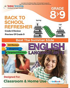 Back to School Refresher tedBook - Grade 8>9 ELA, Teacher Copy
