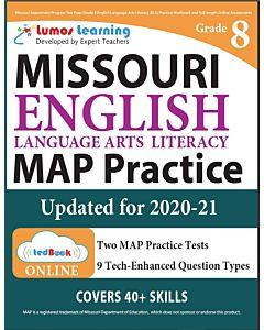 MAP Practice tedBook® - Grade 8 ELA, Teacher Copy