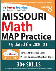 MOMAP Practice tedBook® - Grade 8 Math, Teacher Copy