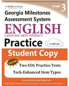 GMAS Practice tedBook® - Grade 3 ELA, Student Copy