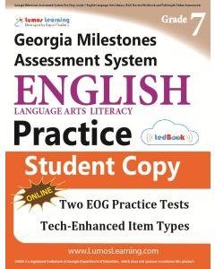 GMAS Practice tedBook® - Grade 7 ELA, Student Copy