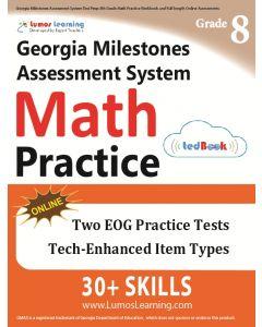 GMAS Practice tedBook® - Grade 8 Math, Teacher Copy