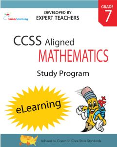 Comprehensive Online Assessments and Workbooks Aligned With the CCSS: Grade 7 Mathematics