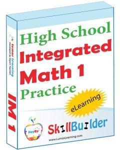 Lumos StepUp SkillBuilder Integrated Math 1 Online Practice