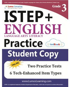 ISTEP+ Practice tedBook® - Grade 3 ELA, Student Copy