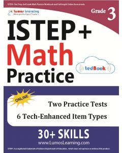 ISTEP+ Practice tedBook® - Grade 3 Math, Teacher Copy