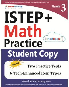 ISTEP+ Practice tedBook® - Grade 3 Math, Student Copy