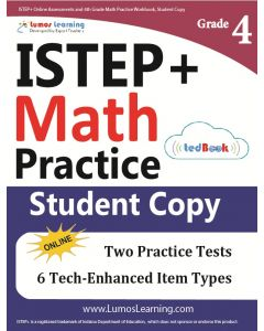 ISTEP+ Practice tedBook® - Grade 4 Math, Student Copy