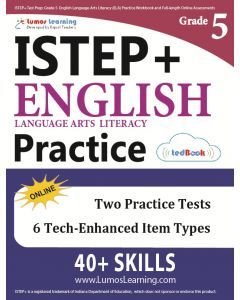 ISTEP+ Practice tedBook® - Grade 5 ELA, Teacher Copy