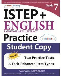 ISTEP+ Practice tedBook® - Grade 7 ELA, Student Copy