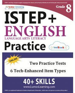 ISTEP+ Practice tedBook® - Grade 8 ELA, Teacher Copy