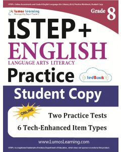 ISTEP+ Practice tedBook® - Grade 8 ELA, Student Copy