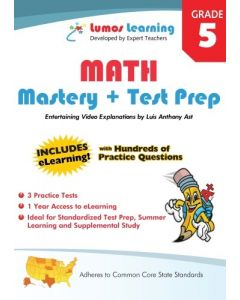 Grade 5 Math Mastery and Test Prep : Entertaining videos and eLearning