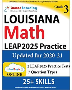LEAP Practice tedBook® - Grade 3 Math, Teacher Copy