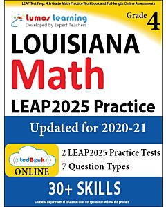 LEAP Practice tedBook® - Grade 4 Math, Teacher Copy