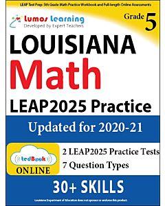LEAP Practice tedBook® - Grade 5 Math, Teacher Copy