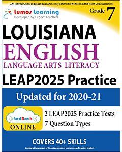 LEAP Practice tedBook® - Grade 7 ELA, Student Copy