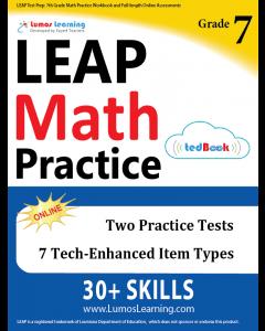LEAP Practice tedBook® - Grade 7 Math, Teacher Copy